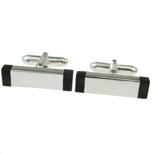 Gucci Silver 925 Bullet Back/Toggle Cufflinks Earrings