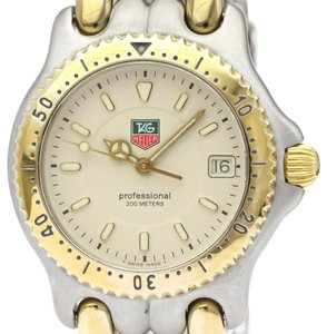 Tag Heuer Tag Heuer Sel Quartz Gold Plated,Stainless Steel Men's Dress Watch WG1221