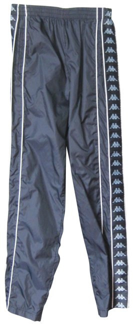 Item - Blue Snap Leg Track Activewear Bottoms Size 6 (S, 28)