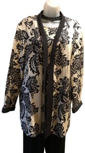 Caroline Rose two piece silk jacket & shell