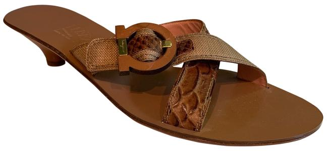 Item - Brown Dl 29192 E31 Sandals Size US 8.5 Narrow (Aa, N)