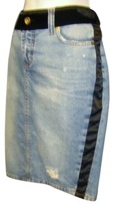 Dolce & Gabbana Skirt Distressed Denim