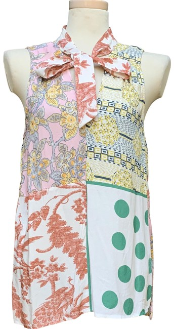 Item - Multicolored Anthropologie Blouse Size 8 (M)