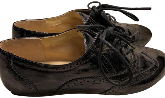 Cole Haan Black Oxford Flats Size US 8