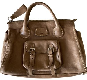 Chloé Satchel in coffee
