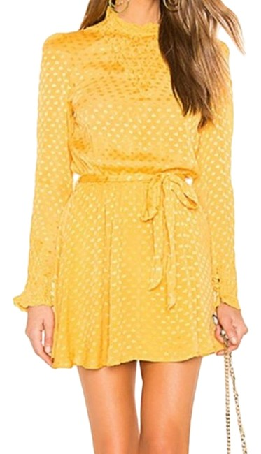 Item - Gold Yellow Gianna Short Night Out Dress Size 0 (XS)