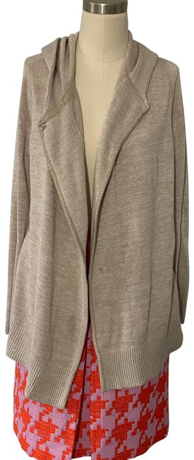 Item - Tan Peace Of Mind Wrap Activewear Outerwear Size 4 (S)