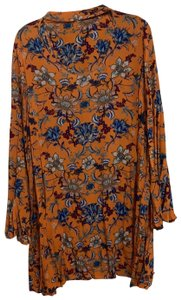 Xhilaration short dress orange on Tradesy