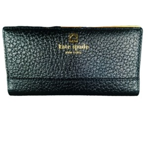 """Kate Spade Kate Spade Black """"Stacy"""" Leather Wallet"""