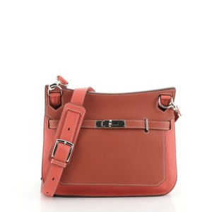Hermès Leather Cross Body Bag