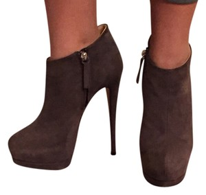 Giuseppe Zanotti Suede Bootie Classic gray Boots