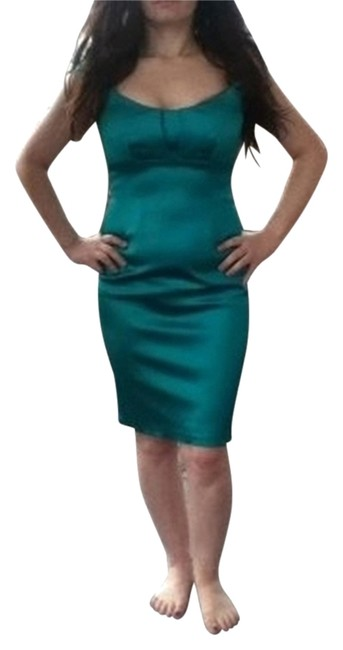 Preload https://item4.tradesy.com/images/david-meister-teal-above-knee-cocktail-dress-size-4-s-27238-0-1.jpg?width=400&height=650