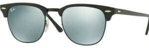 Ray-Ban Light Greeen/Silver Mirrored Lens RB3016 122930 Unisex Square