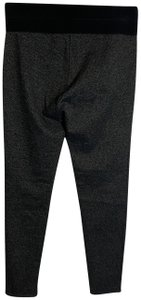 Ann Taylor Lined Fitted Career Pleated Skinny Pants Gray