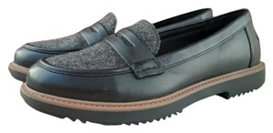 Clarks Black, Gray, Tan Flats