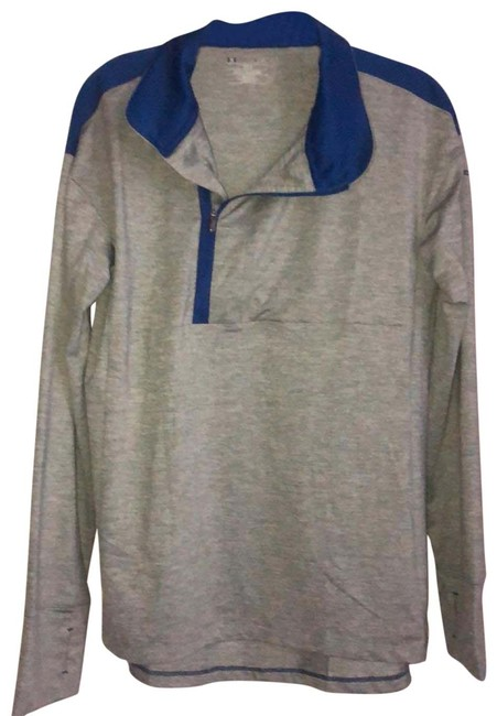 Item - Gray and Blue Loose Fit Activewear Outerwear Size 6 (S)