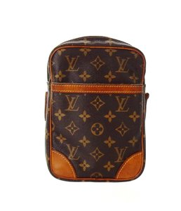 Louis Vuitton Monogram Vintage France Toiletry Travel Brown Clutch