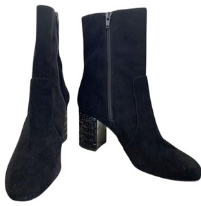 Michael Kors Suade Embellished Sexy Black Boots