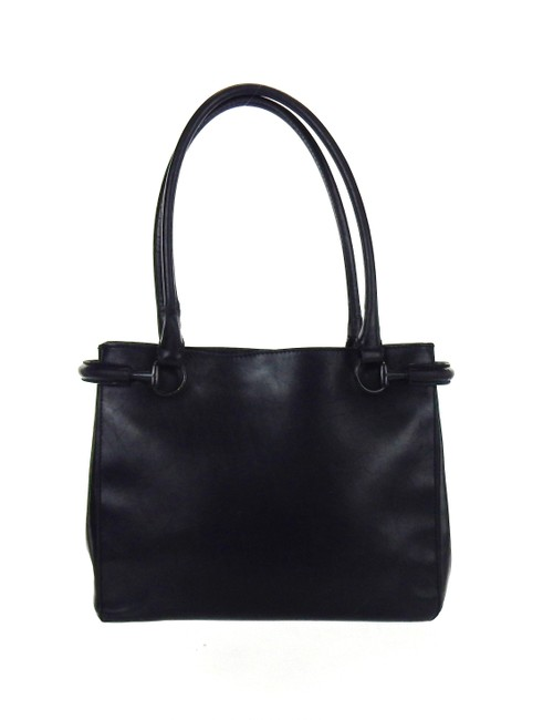 Item - Evening Black Leather Shoulder Bag
