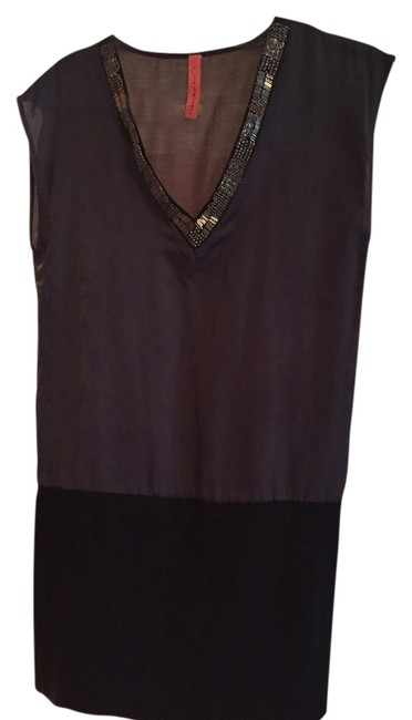 Preload https://item2.tradesy.com/images/eight-sixty-dress-grey-and-black-2724016-0-0.jpg?width=400&height=650