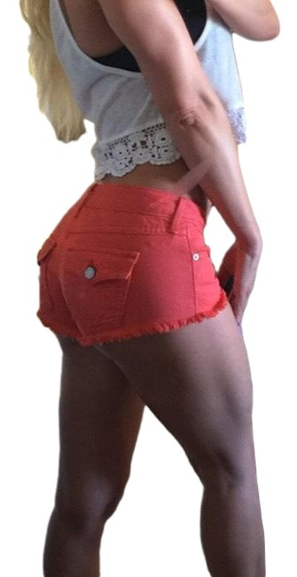 Item - Orange Joey Cutoff Shorts Size 00 (XXS, 24)