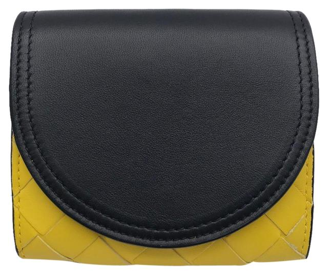 Item - Black / Yellow Hook Ladies' Men's Bi-fold Leather Dh56471 Wallet