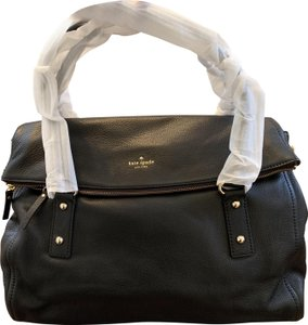 Kate Spade Cobble Hill Leather Satchel in Black