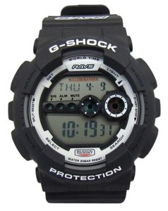 Casio CASIO G-SHOCK Rays WHEELS Rays collaboration double name 2016 limited digital Quartz Watch GD-100