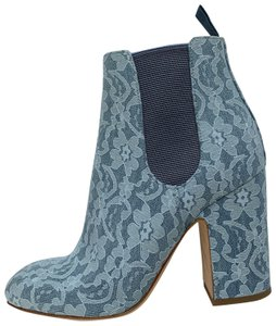 Laurence Dacade Lace Ankle light blue Boots