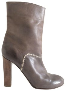 Chloé Italy Ankle Taupe Boots