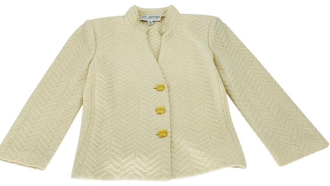 Item - Cream Collection Knit Jacket Size 2 (XS)