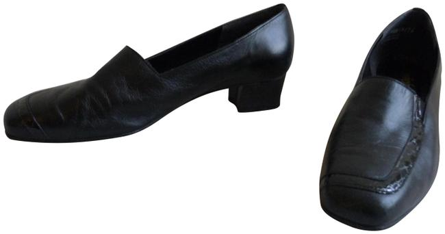 Item - Black Comfortable Vintage Flats Size US 9.5 Extra Wide (Ww, Ee)