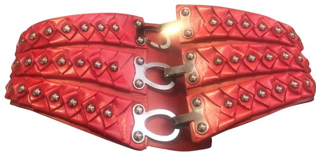 Item - Red Dvf Belt