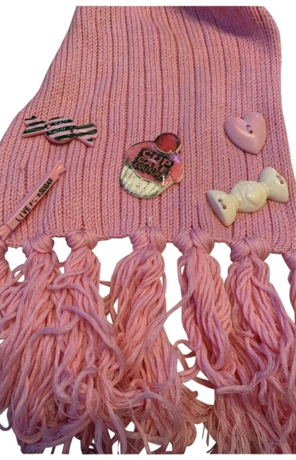 Juicy Couture Pink Candy Knit Set Scarf/Wrap Juicy Couture Pink Candy Knit Set Scarf/Wrap Image 1