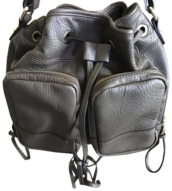 Item - Like New Convertible with 2 Pockets In Front Mushroom Brown Leather Backpack