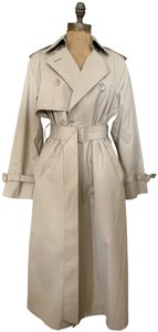 London Fog Classic Fit Lined Wool Trench Coat