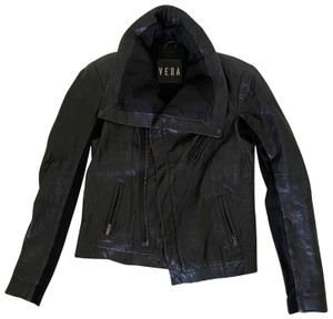 VEDA Classic Biker Leather Jacket