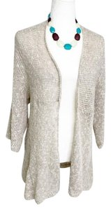 Eileen Fisher Linen Cardigan Sweater