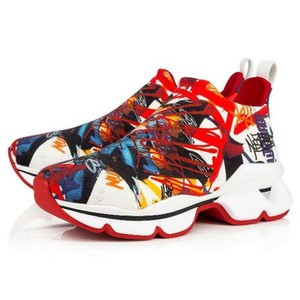 Christian Louboutin Sneakers Low Top 123 Space Multicolor Athletic