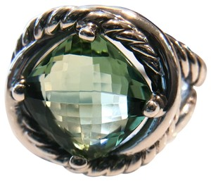 David Yurman David Yurman Prasiolite Infinity Ring 11mm