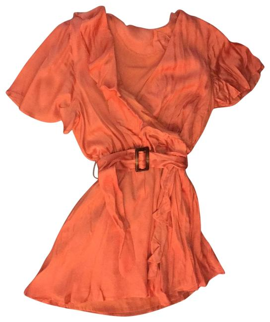 Item - Orange Short Night Out Dress Size 8 (M)
