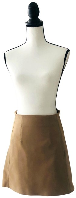 Item - Tan A-line Skirt Size 6 (S, 28)