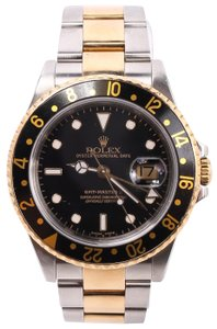 Rolex Rolex GMT-Master Two Tone Watch 16753