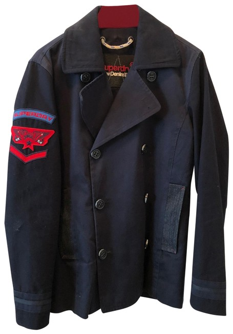 Item - Navy Blue New Tailoring Jacket Size 6 (S)