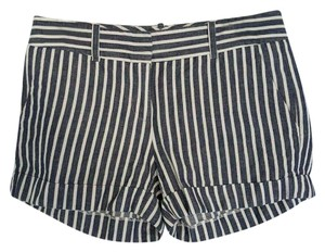Daniel Cremieux Cuffed Shorts Blue White