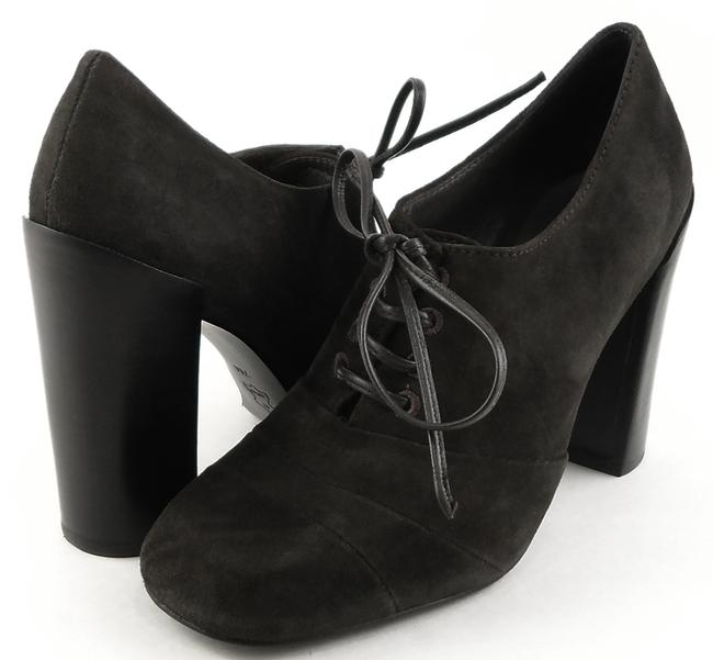 Item - Smoke Stella Suede Lace Up Solid Oxford Boots/Booties Size US 8.5 Regular (M, B)