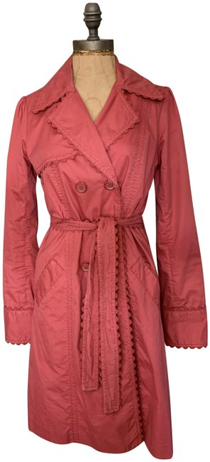 Item - Red Pre-owned Sitwell Red-small Coat Size 6 (S)