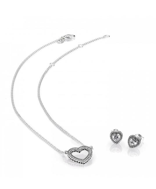 Item - Silver Loving Hearts Of Gift Set