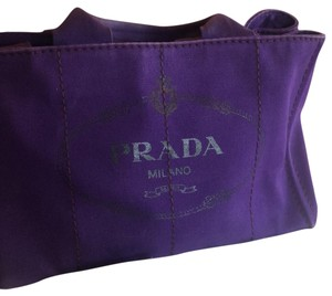 "Prada Satchel in Purple ""viola"""