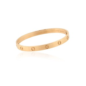 Cartier Cartier 18k Rose Gold New Style Love Bangle Bracelet